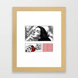 In My Feelings Framed Art Print