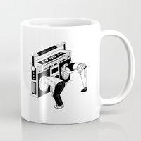 radiohead Mugs featuring Radiohead by Henn Kim