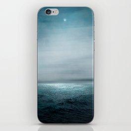 Sea Under Moonlight iPhone Skin