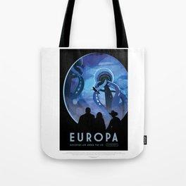 Europa - NASA Space Travel Poster Tote Bag