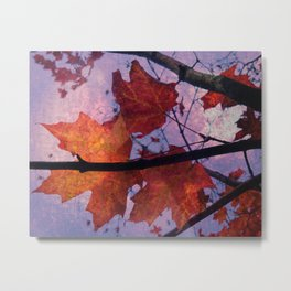 Autumn Sadness Metal Print