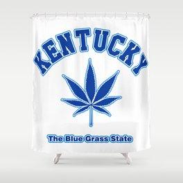 Kentucky Blue Grass Shower Curtain