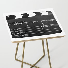 Film Movie Video production Clapper board Side Table
