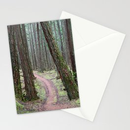 DOUGLAS FIR FOREST ON MOUNT PICKETT ORCAS ISLAND Stationery Cards