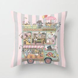 The dream car Throw Pillow