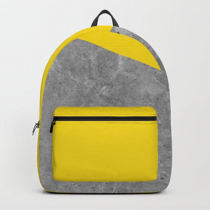 Geometry 101 Vivid Yellow Backpack