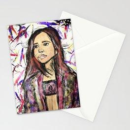 Nail Polish Art of Bailee Madison Stationery Cards