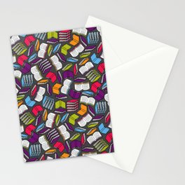 So Many Colorful Book... Stationery Cards
