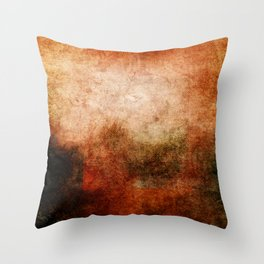 Abstract Cave II Throw Pillow