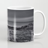 lighthouse Mugs featuring Lighthouse by Ian Mitchell