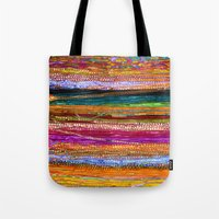indian Tote Bags featuring Indian Colors by Joke Vermeer