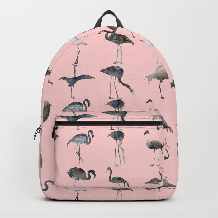 Flamingos Pink Backpack