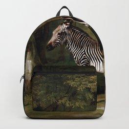 George Stubbs - Zebra Backpack