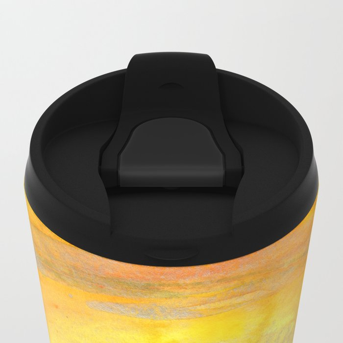 Focus on the Center Metal Travel Mug