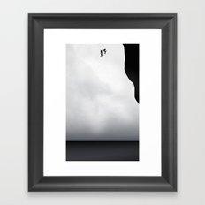 Let's jump together Framed Art Print