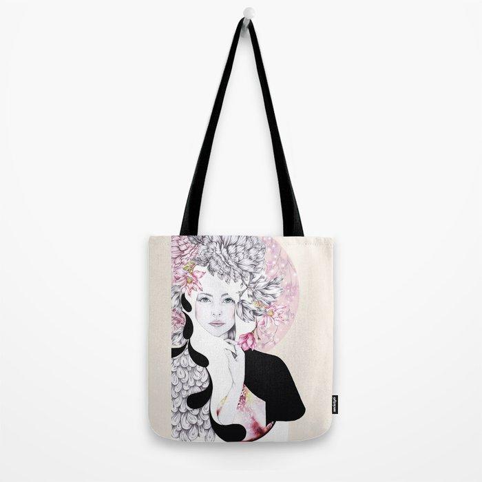 Giambattista Valli fashion Illustration Tote Bag