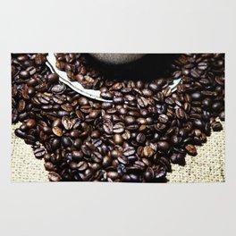coffee art Rug