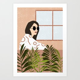Relax and Chill Art Print