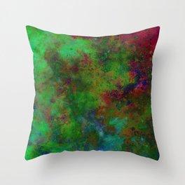HANDPAINTED UNIVERSE Throw Pillow