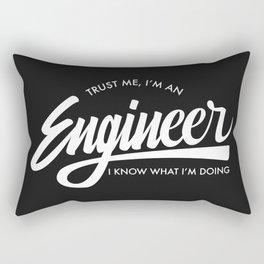 Trust Me, I'm an Engineer Rectangular Pillow