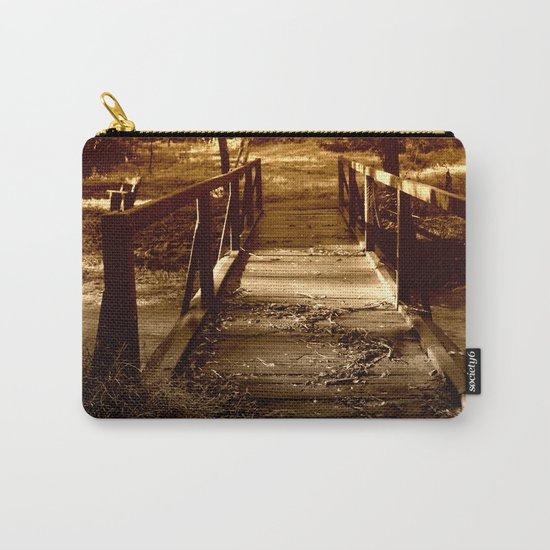 Old Bush Bridge Carry-All Pouch