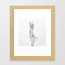 "Metal gear Solid ""Paz"" Framed Art Print"