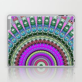 lilac mandala Laptop & iPad Skin