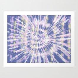 Indigo Tie-Dye Art Print