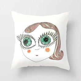 I am Delfina! Throw Pillow