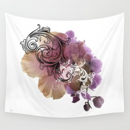 L'Orchidée Wall Tapestry