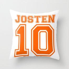 Josten 10 Throw Pillow