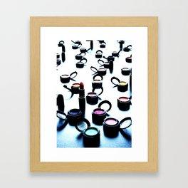 face candy Framed Art Print