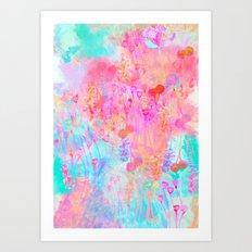 Floral Blush Art Print