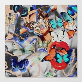 Fluttering Feelings Canvas Print