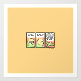 A Nice Bird Art Print
