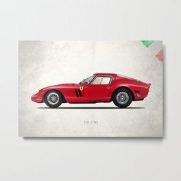 The 250 GTO Metal Print