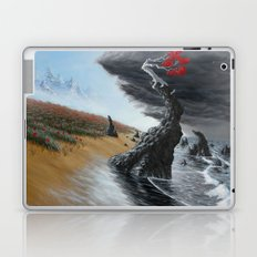 breaking the tide Laptop & iPad Skin