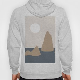 mountains in the sea Hoody
