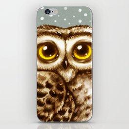 Owl Face iPhone Skin