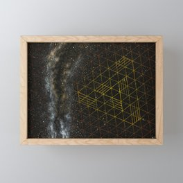 Galaxometry Framed Mini Art Print