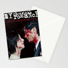 my chemical romance murder scene tour 2019 2020 udahbaun Stationery Cards
