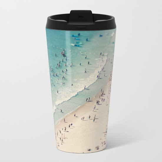 beach love V Metal Travel Mug