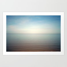 The sea, oh the sea Art Print