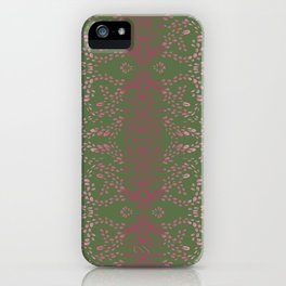 Mangueira Leaves iPhone Case