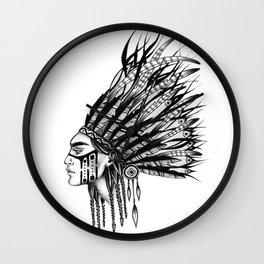 INDIANS - 1 Wall Clock