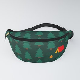Camping in the Woods Fanny Pack