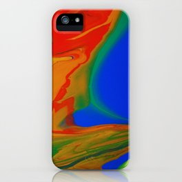 Electric Glow iPhone Case
