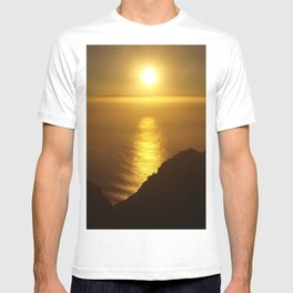 Sunset over the Canary islands T-shirt