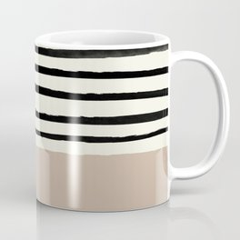 Latte & Stripes Coffee Mug