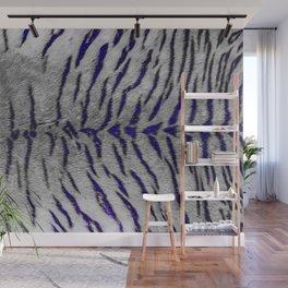 Night Tiger Skin Print Wall Mural